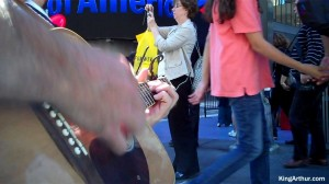 Times Square Guitar Playing