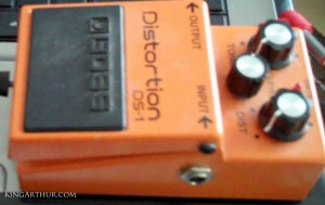 Distortion Pedal Level to 10