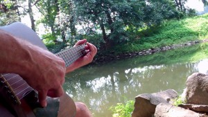 Songwriting on the Brandywine River