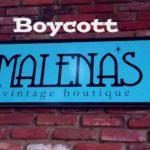 Boycott Melana's
